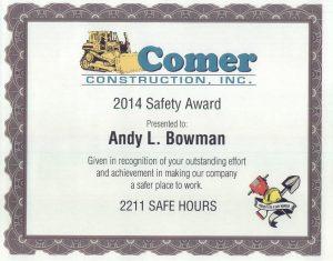 Andy L Bowman