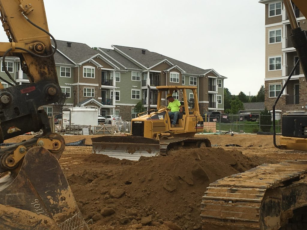 Grading or Storm Water Management