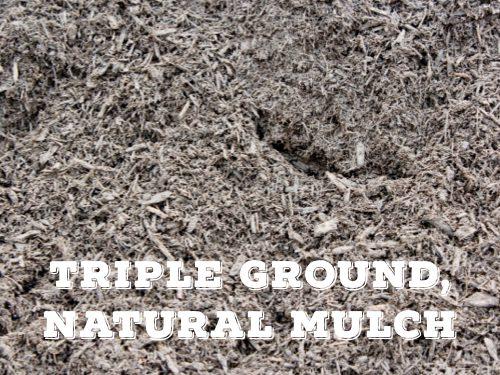 TRIPLE GROUND NATURAL MULCH