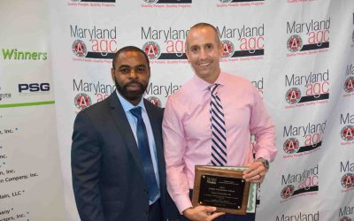 Associated General Contractors Safety Award Winner // Maryland Construction Company