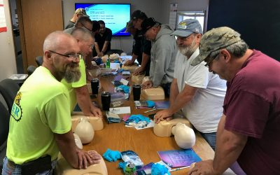 Employees Complete First Aid, CPR Certifications