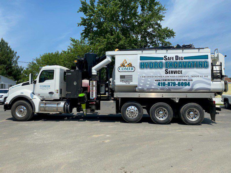 First Hydro Excavator Truck Added to Growing Fleet