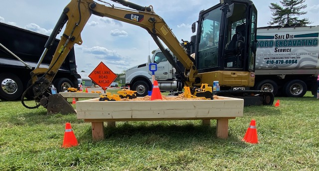 Comer Construction Joins National Night Out in Harford County